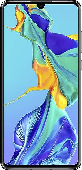 Huawei P30 Smartphone débloqué 4G (6,1 pouces 6/128Go Double Nano SIM Android 9) Noir