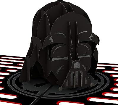 GRAY DARTH VADER Star Wars Card Illustrated W IV