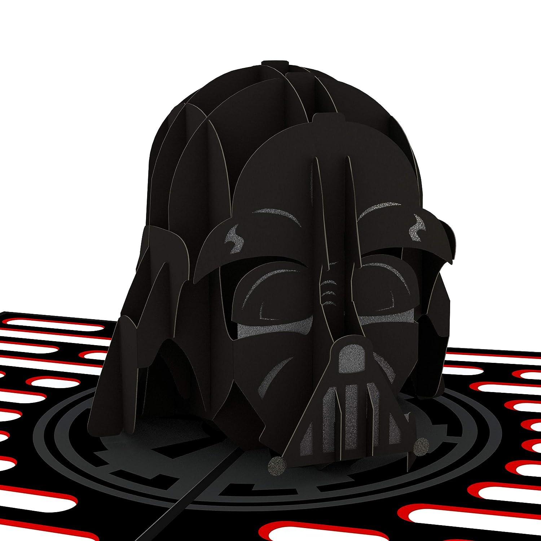 Tarjeta en 3D Star Wars Darth Vader