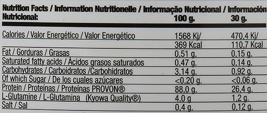 QUAMTRAX PROTEINA WHEY ISOPRO CFM SABOR VAINILLA & CANELA2267 gr