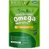 Omega 3 Dental Sticks for Dogs - With Hemp,...