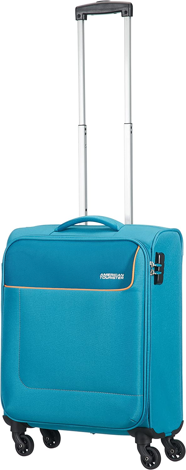 Orion Blue 99,5 L 79 cm American Tourister Funshine 4 Roues 79//29 Valise
