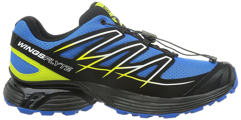 Salomon Wings Flyte Zapatilla de Trail Running Caballero, Azul/Negro, 44 2/3: Amazon.es: Deportes y aire libre