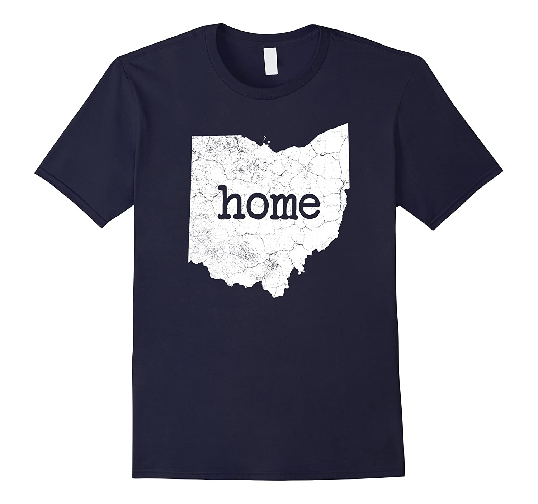 Distressed Ohio Home Shirt Ohio Shirt-Art