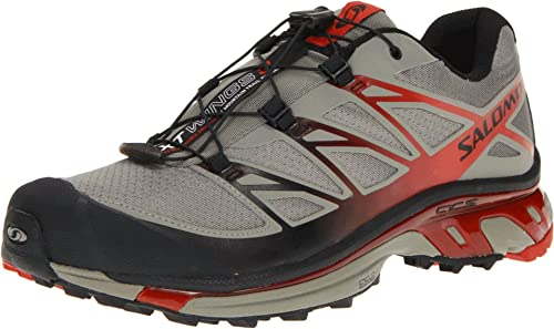 SALOMON XT Wings 3 Zapatilla de Trail Running Caballero, Gris/Naranja, 49 1/3: Amazon.es: Zapatos y complementos