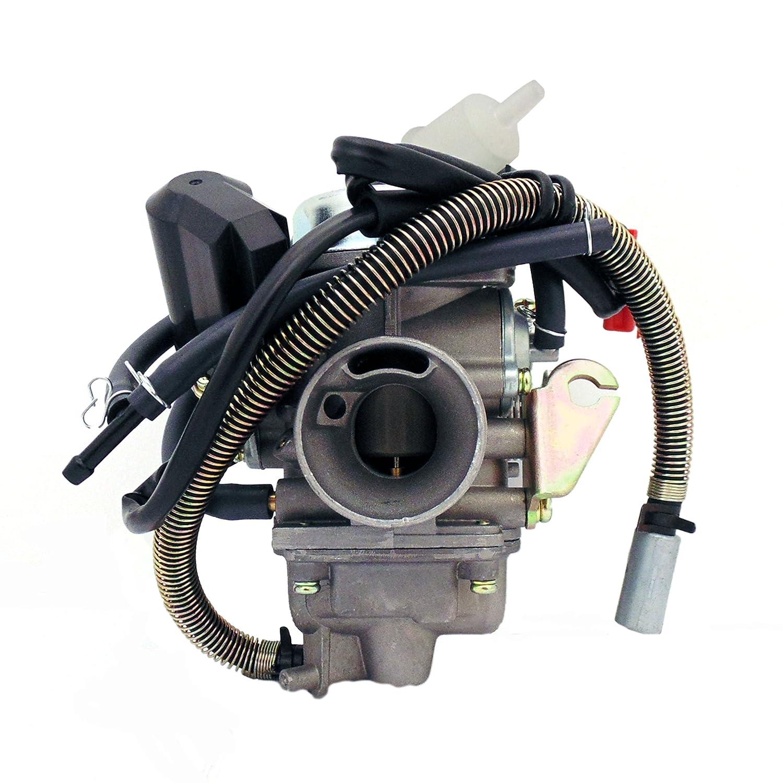 Carburetor Assy 150cc 125cc 4 Stroke Electric Choke Bms Atv Wiring Diagram Motorcycle Scooter Automotive