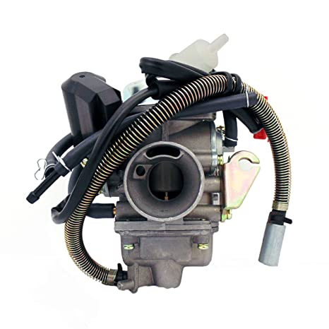 MMG Carburetor Assy 150cc 125cc 4 Stroke Electric Choke Motorcycle Scooter
