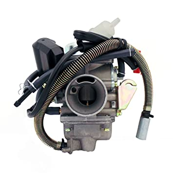 Amazon.com: Carburetor y 150cc 125cc 4 Stroke Electric Choke ... on roketa 50cc scooter wiring diagram, roketa 50cc atv tires, roketa 250cc atv wiring diagram, roketa dirt bikes wiring diagram, roketa 50cc atv engine,