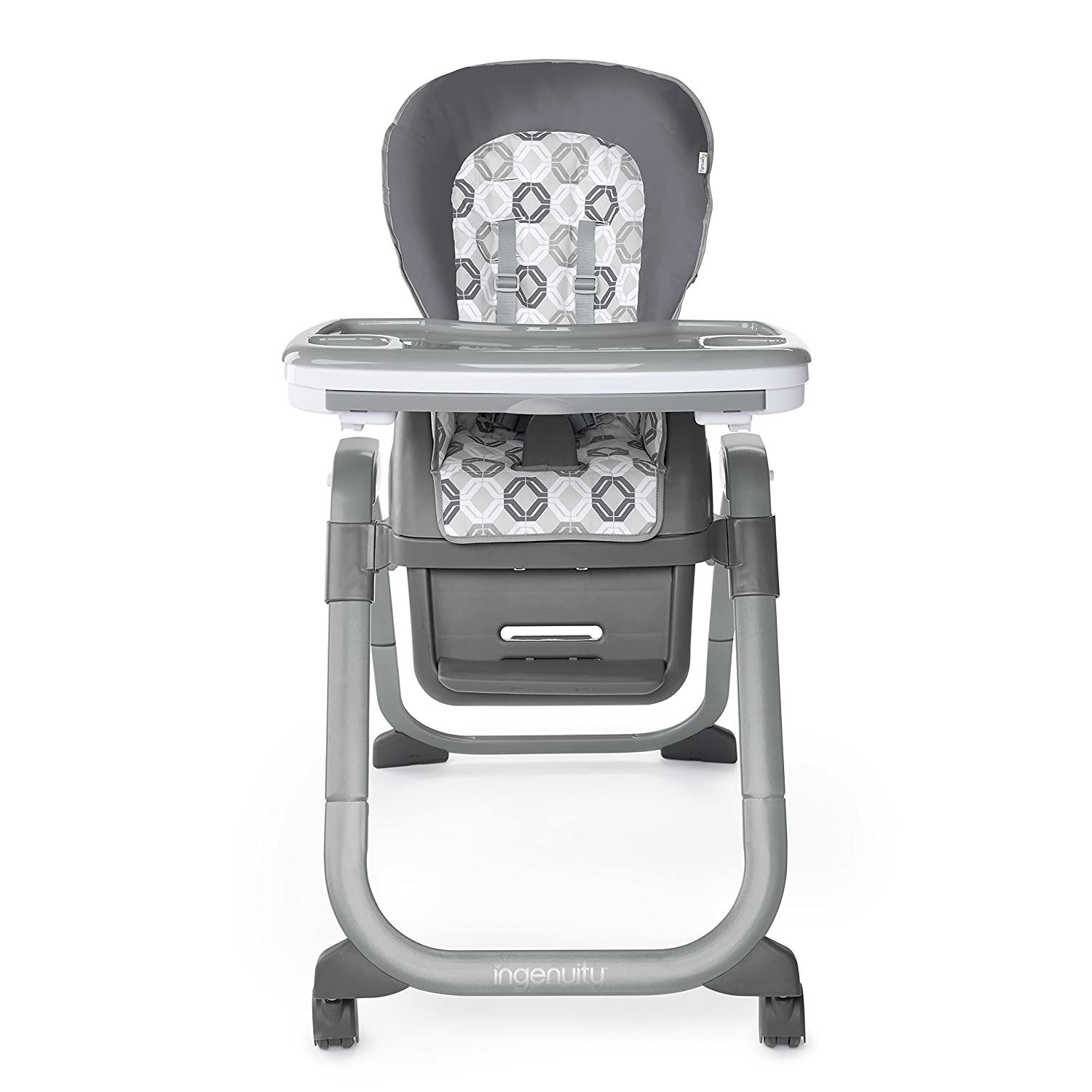 Connolly Ingenuity SmartServe 4-in-1 High Chair with Swing Out Tray High Chair Toddler Chair and Booster