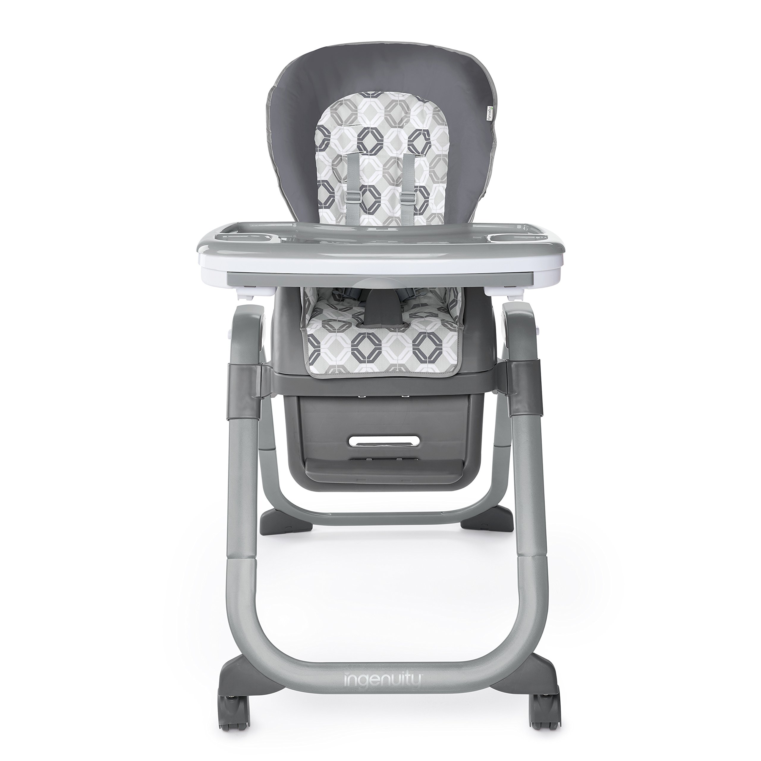 Ingenuity SmartServe 4-in-1 High Chair with Swing Out Tray - Clayton - High Chair, Toddler Chair, and Booster by Ingenuity (Image #1)