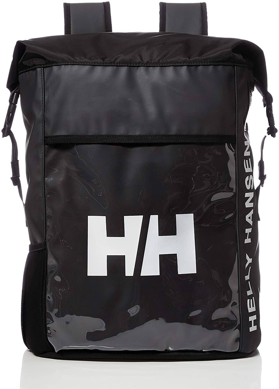 ヘリーハンセン - ロールマップバッグ ブラック