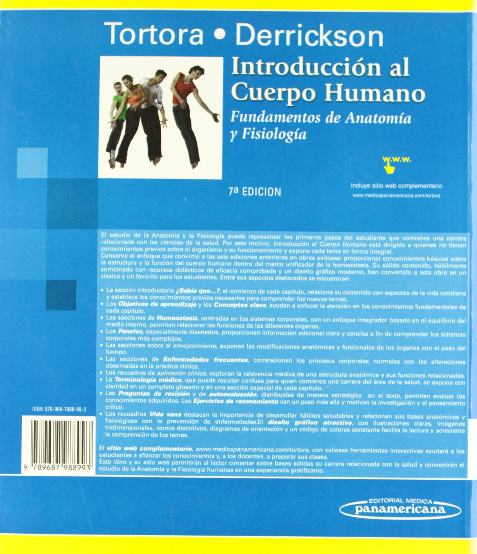 Introducción al cuerpo humano: Fundamentos de Anatomía y Fisiología ...