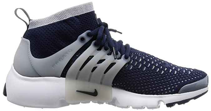 huge selection of c92b3 f230b Amazon.com   Nike Air Presto Flyknit Ultra Men s Shoes Collegiate Navy Wolf  Grey White 835570-402 (11.5 D(M) US)   Road Running