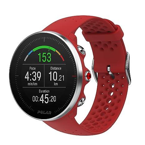 Polar Vantage M - Reloj multisport con GPS, pulsómetro en la muñeca, notificaciones,