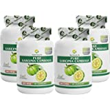 NutrineLife Pure Garcinia Cambogia Slimming Extract Natural Sugar Free Supplement 500 mg - 90 Capsules (Pack of 4)