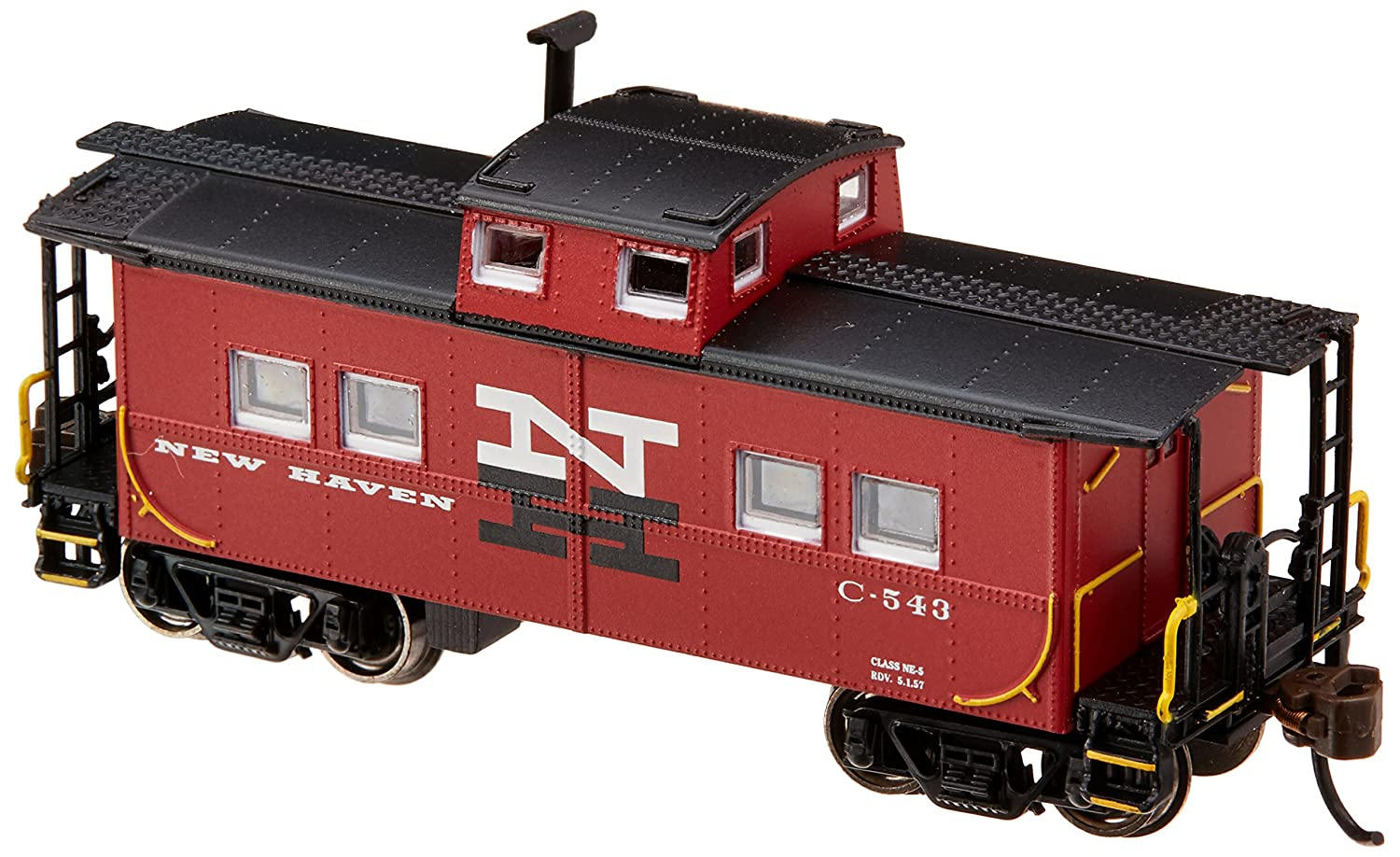 Bachmann Industries New Haven #C-543 Northeast Steel Caboose Car (N Scale) Bachmann Industries Inc. 16864
