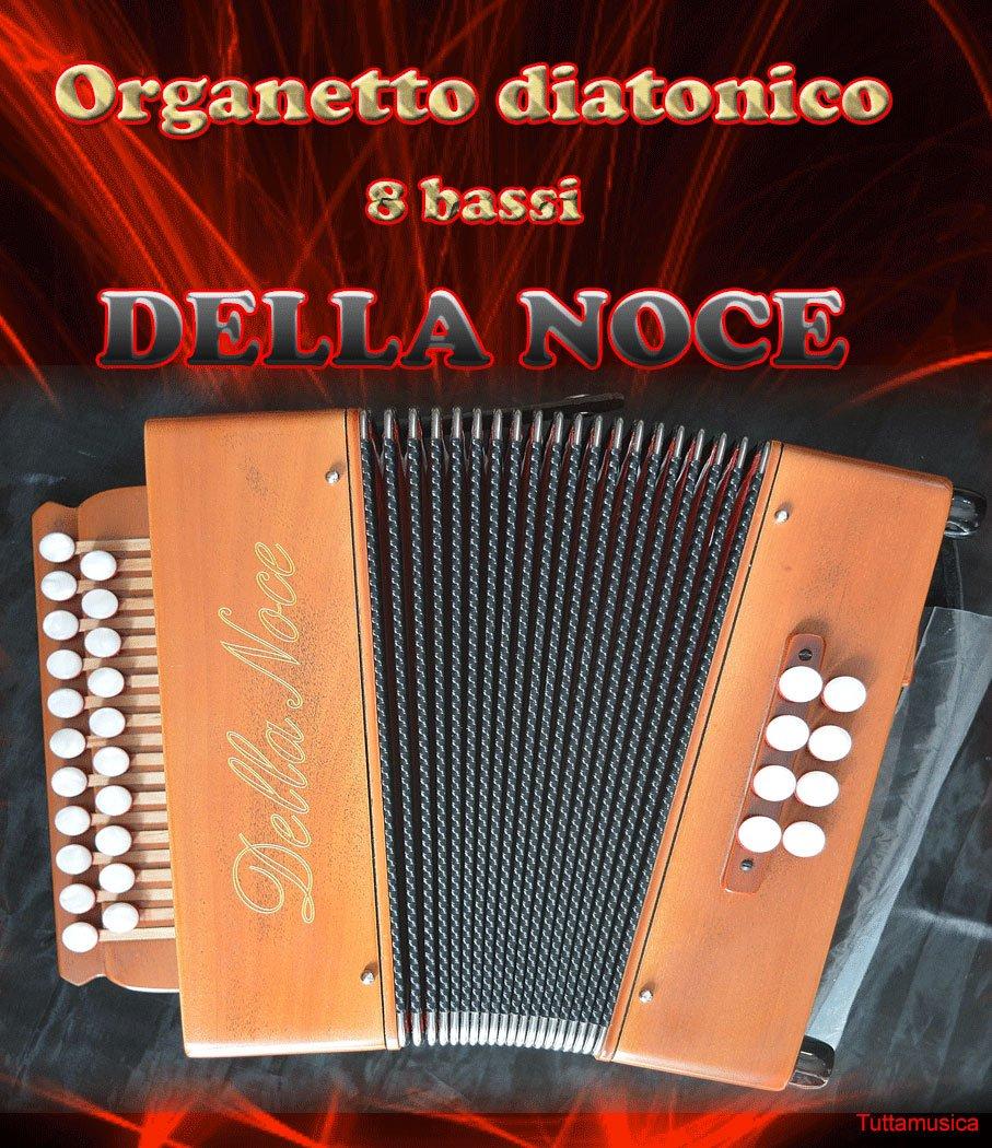 organetto Acordeón diatónico 8 bajos La Nogal Mod. Studio 2 ...