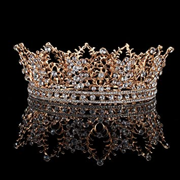 Jewelry & Accessories Jewelry Sets & More The Cheapest Price Crystals Headbands Rhinestones Sparkly Wedding Crown Women Hair Accessories Wedding Party Baroque Diadem Hair Jewelry Ornament