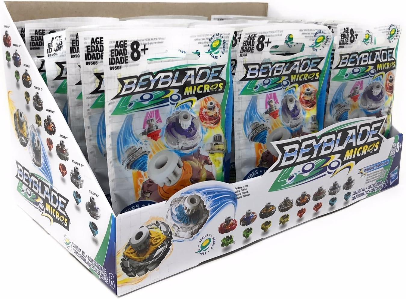 Case of 24 Beyblade Micros Series 1 Mini Tops Blind Bag