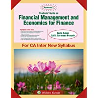 Students' Guide on Financial Management and Economics for Finance: for CA Inter New Syllabus