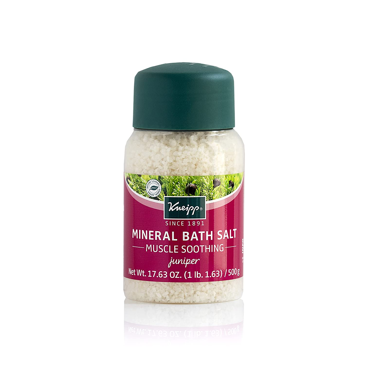 Kneipp MUSCLE SOOTHING MINERAL BATH SALT Tired & Strained Muscles JUNIPER 500g HealthCenter AMZ014
