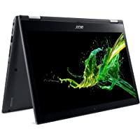 "Notebook 4 em 1 Acer Spin 3 SP314-51-C3ZZ, Intel Core i7-8550U, 8 GB RAM, 256 GB SSD, Tela 14"" HD Multi-touch LCD"", Windows 10"
