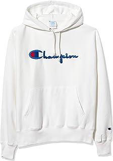 Black//Blue Champion Men/'s Life Reverse Weave Chenille Logo Pullover Hoodie