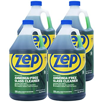 Zep Ammonia Free 128 ounce Concentrate Glass Cleaner