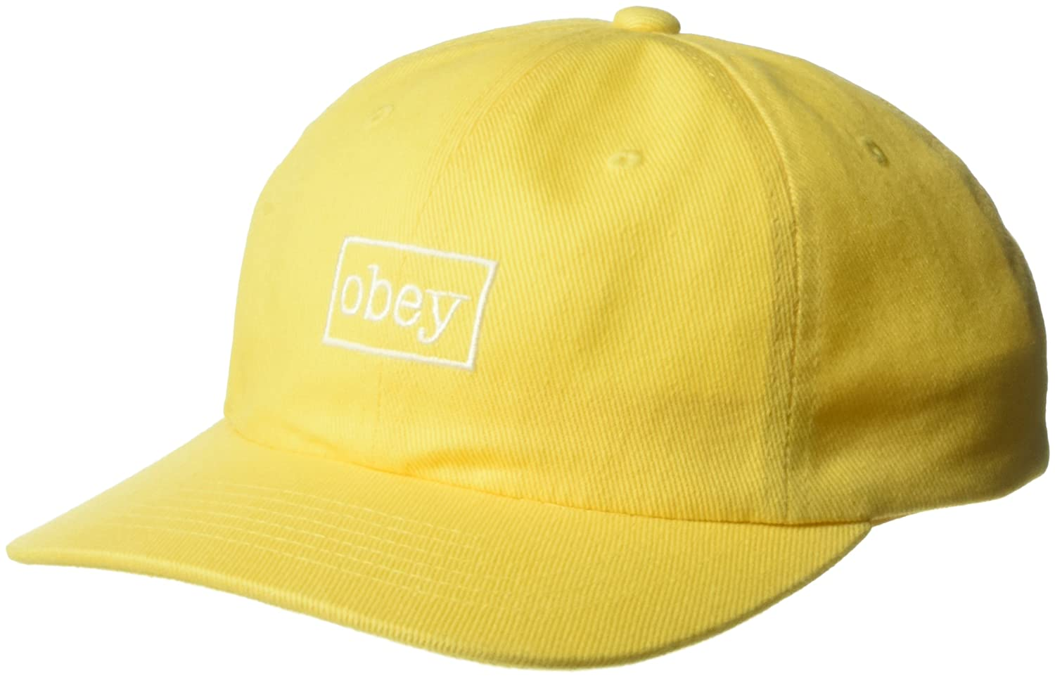 Obey GORRA OUTLINE 6 PANEL SNAPBACK Hombre Amarillo Talla unica ...