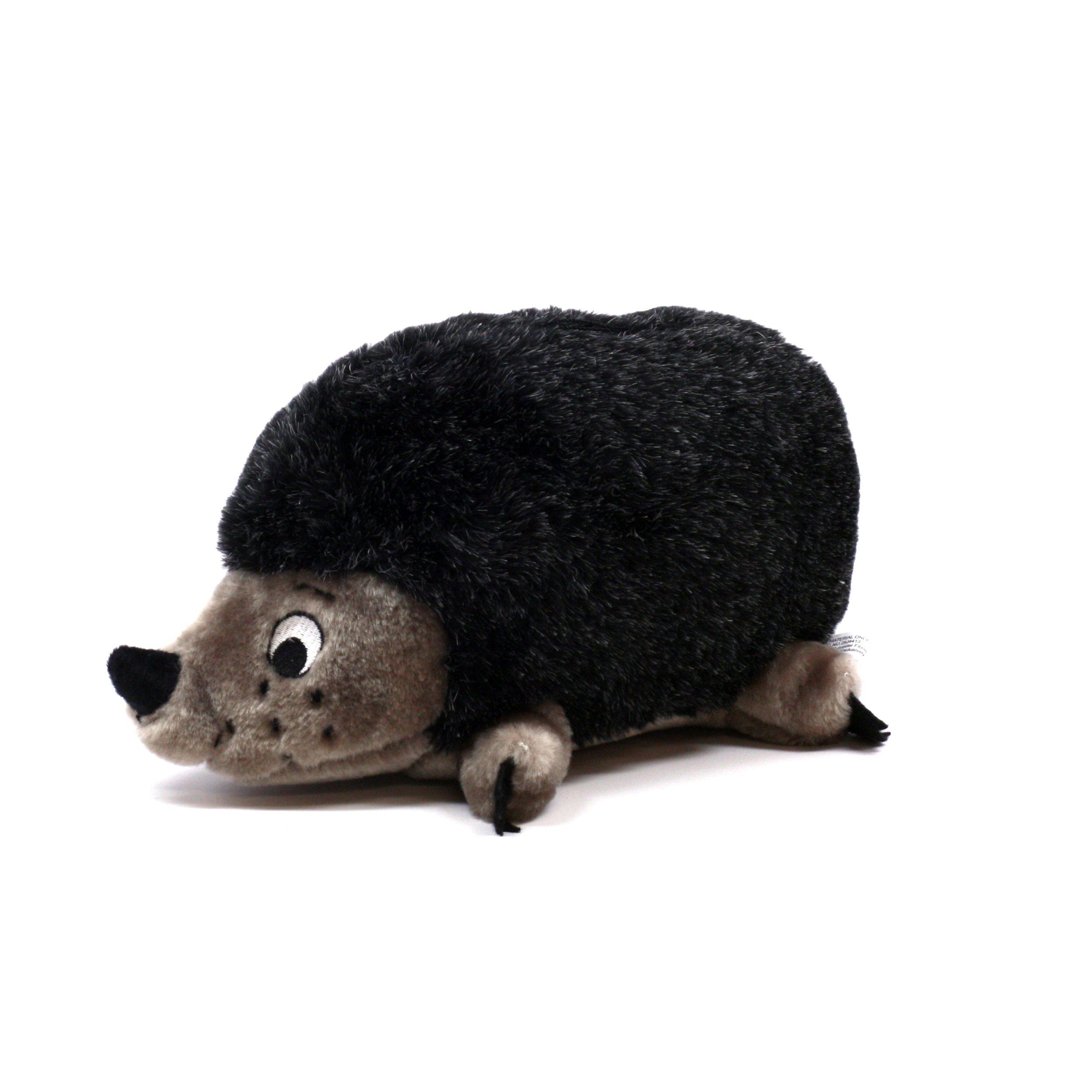Outward Hound Kyjen  PP01529 Hedgehog Dog Toys Grunt Toy, Medium, Grey by Plush Puppies