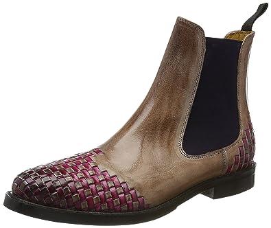 Molly 10, Chelsea Boots Femme, Marron (Mink Classic/Mink/Interlaces DK. Pink Ela. Purple/Hrs), 38 EUMelvin & Hamilton