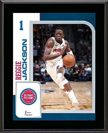 9a459d4a7 Reggie Jackson Detroit Pistons 10.5 quot  x 13 quot  Sublimated Player  Plaque - NBA Team Plaques