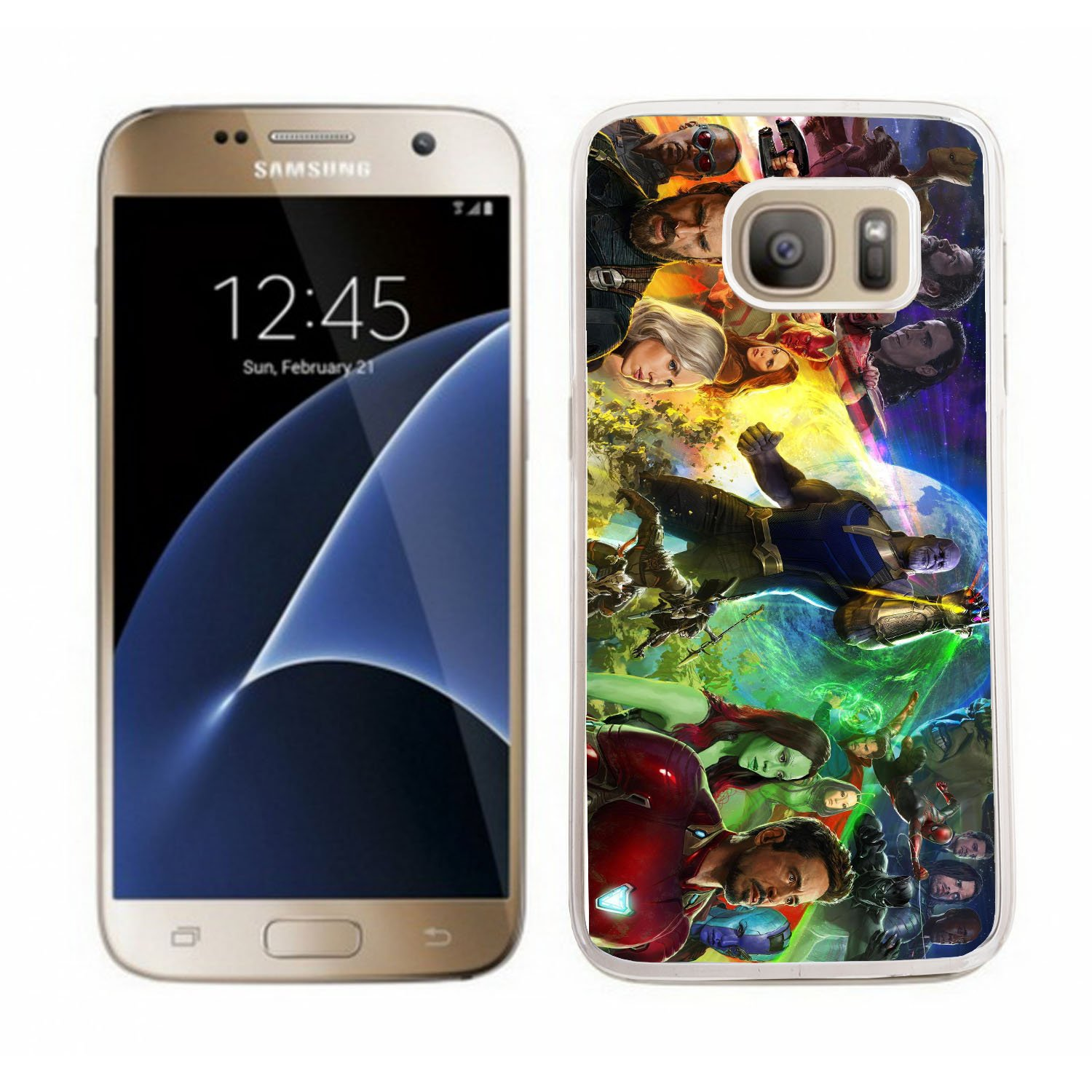 Marvel Superheroes infinity War case fits samsung galaxy S5