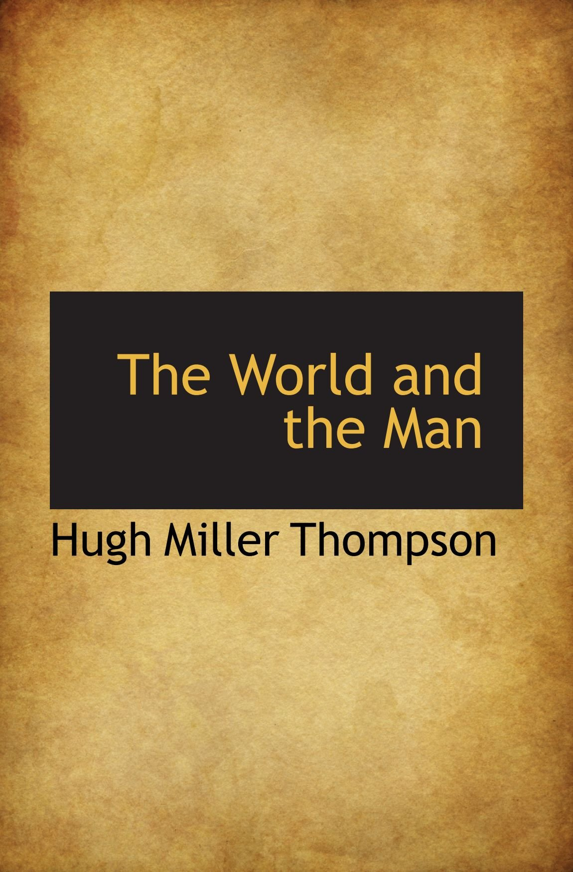 The World and the Man ebook