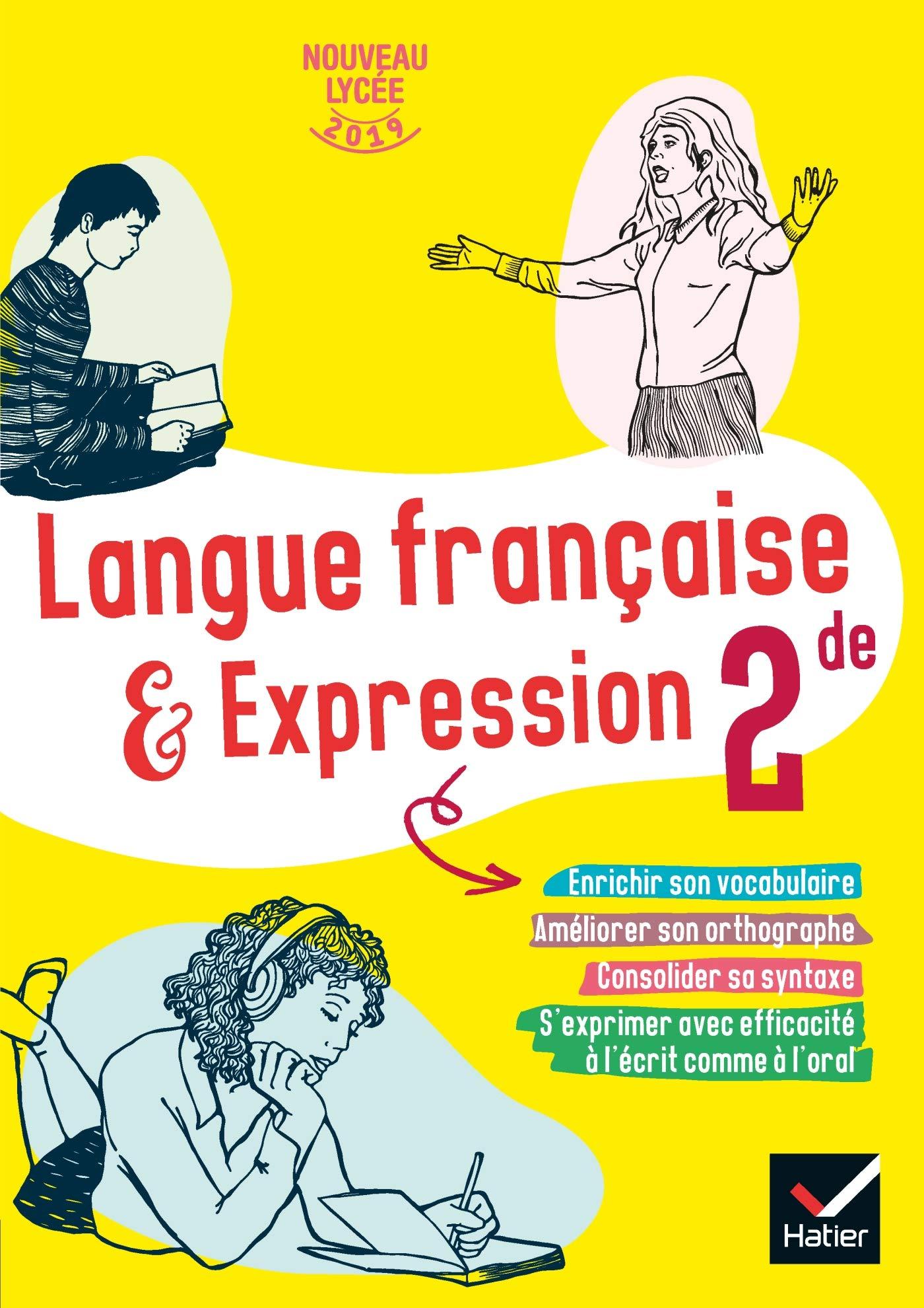 Cahier De Langue Francaise 2de Ed 2019 Cahier De L Eleve