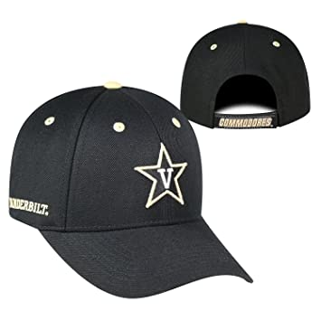 best cheap 77048 e6318 ... greece amazon top of the world vanderbilt commodores official ncaa  adjustable triple threat hat cap by