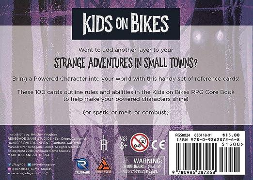 Kids on Bikes RPG Strange Adventures