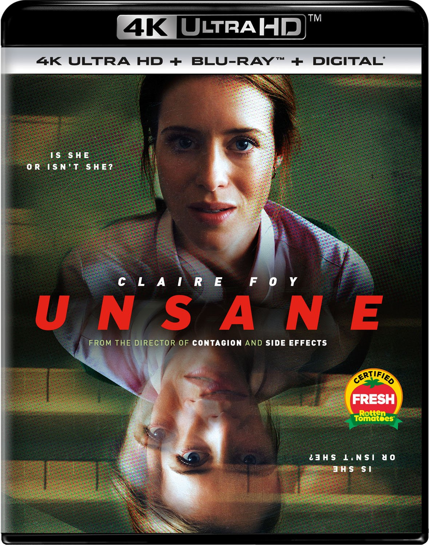 Blu-ray : Unsane (With Blu-Ray, 4K Mastering, 2 Pack, Digital Copy, 2PC)