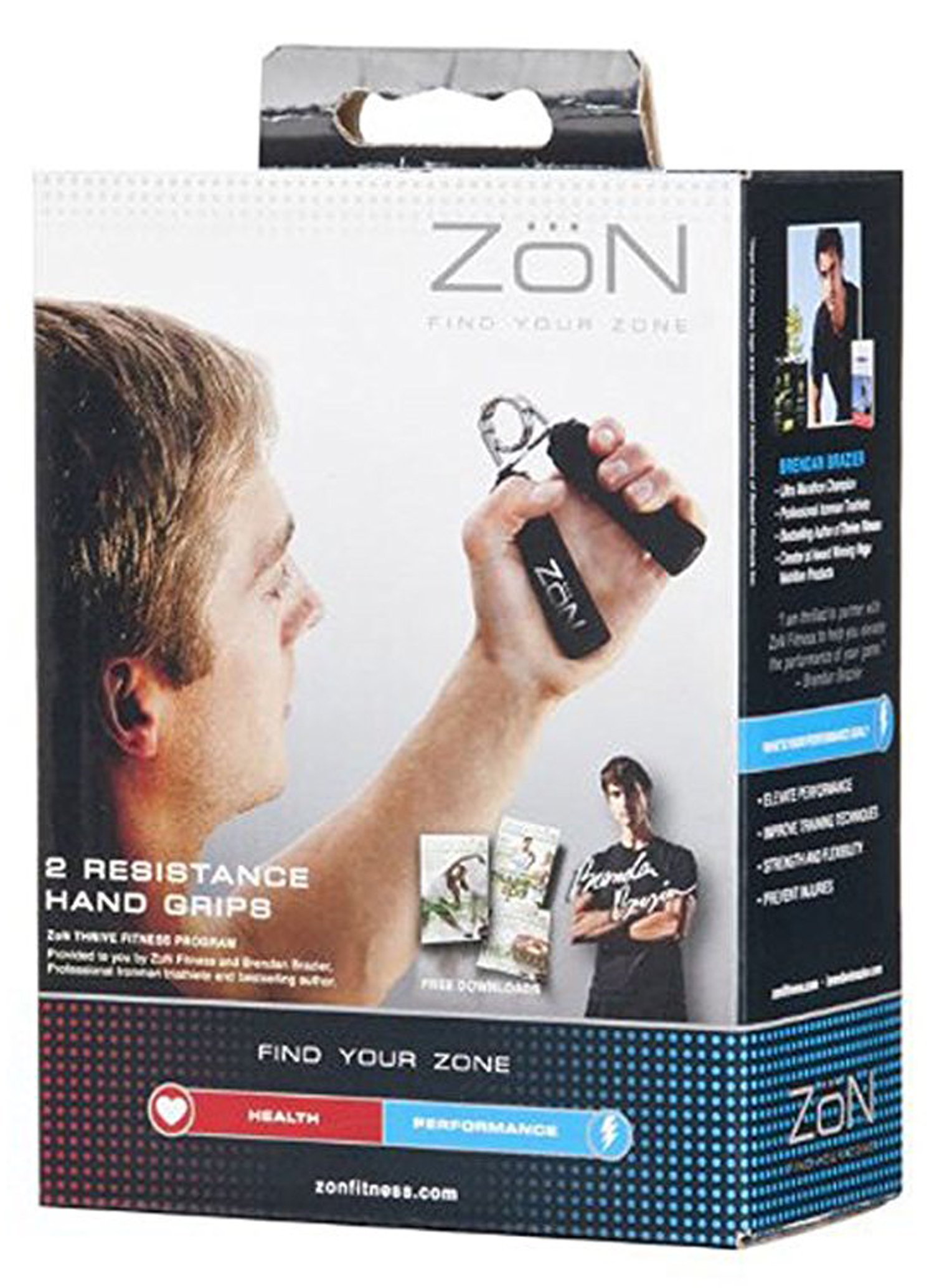 ZoN Resistance Strength Hand Grips - 2 Pack by ZON