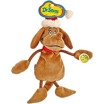 Grinch Stole Christmas Dog.Dr Seuss How The Grinch Stole Christmas Max Flattie Dog Toy