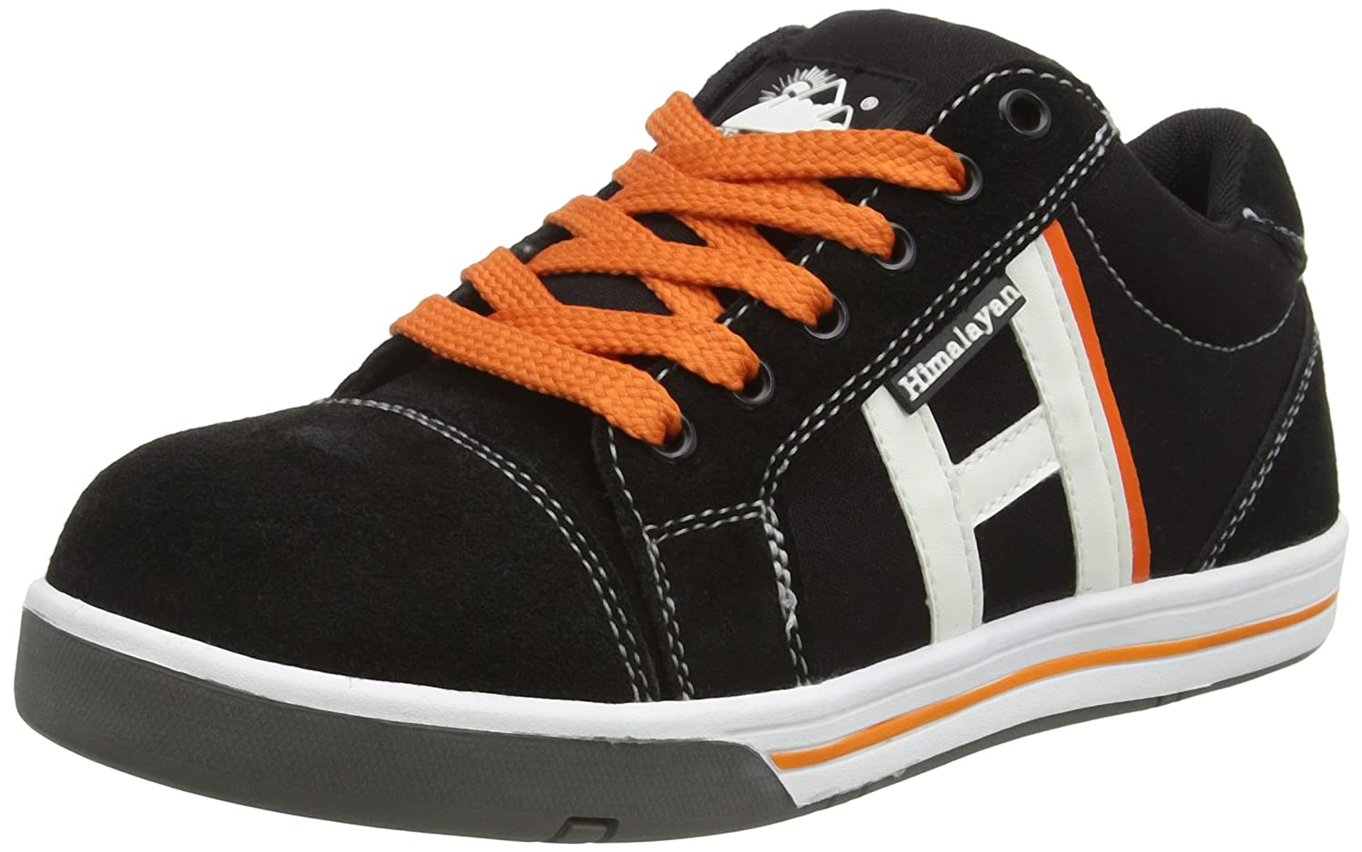 Himalayan Mens Suede/Canvas Safety Skater Safety Work Trainer