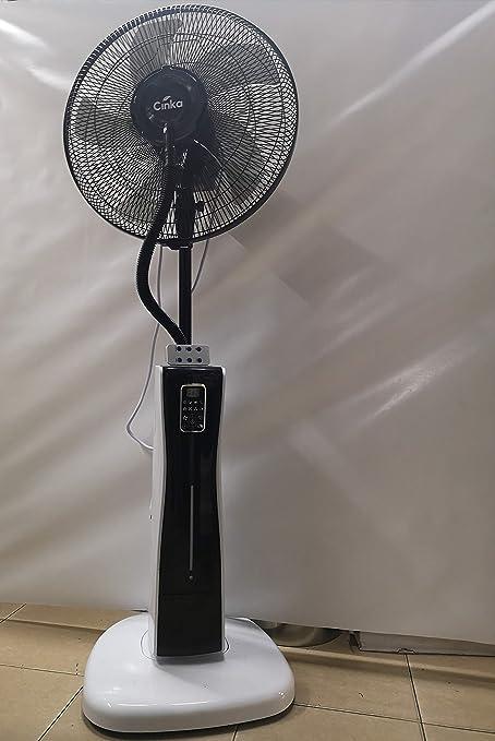 Ventilador con nebulizador para interiores y exteriores, ideal ...