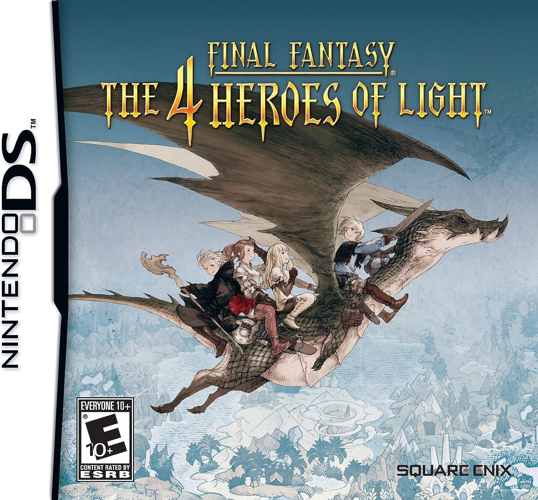 Square Enix Final Fantasy: The 4 Heroes Of Light Nintendo DS vídeo - Juego (Nintendo DS, RPG (juego de rol), Modo multijugador, E10 + (Everyone 10 +))