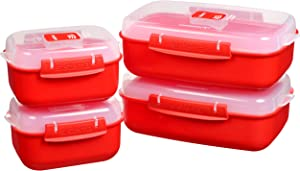 Sistema Microwave Set, Red