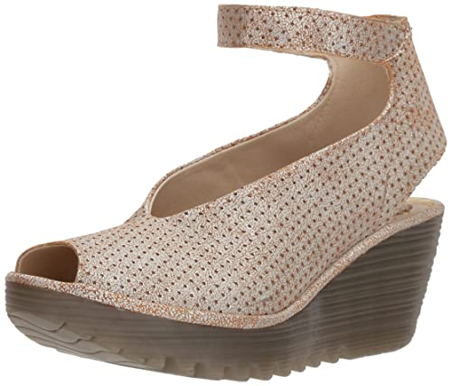 ae91cc6502b Fly London Women s Yala Perforated Wedge Pump  Amazon.ca  Shoes ...