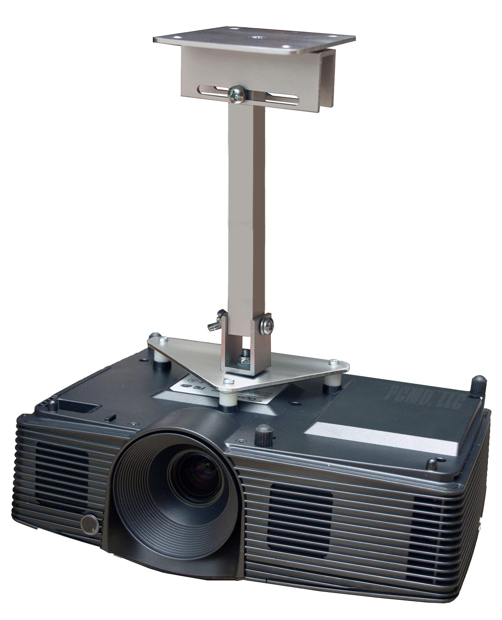 PCMD, LLC. Projector Ceiling Mount Compatible with NEC NP905 NP901W VT800 with Lateral Shift Coupling (12-Inch Extension) by PCMD, LLC.