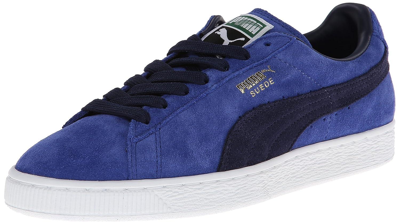 PUMA Adult Suede Classic Shoe B00GV4I948 6.5 M US|Limoges/Peacoat