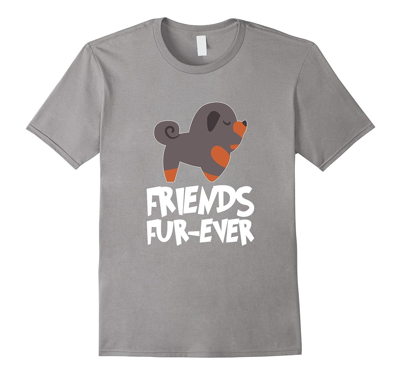 Tibetan Mastiff Friends FUR-Ever T-Shirt-TH