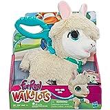FurReal Walkalots - Big Wags White Llama Plush Pet - Kids Interactive Toys - Ages 4+