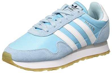 check out ee732 dd425 adidas Women s Haven W Running Shoes Multicolor (Icey Blue F17 ftwr White  Grey
